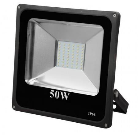 LED SMD SLIM Прожектор за външен монтаж 50W