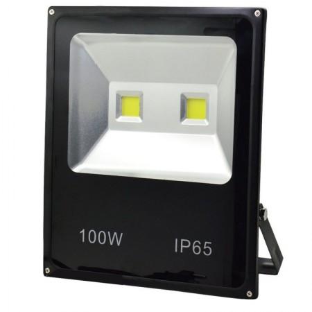LED SMD SLIM Прожектор за външен монтаж 100W