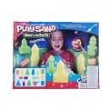 Комплект за игра светещ лунен, кинетичен пясък Castle Park