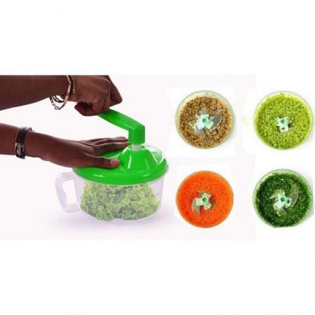 Ръчен чопър за рязане и кълцане на зеленчуци