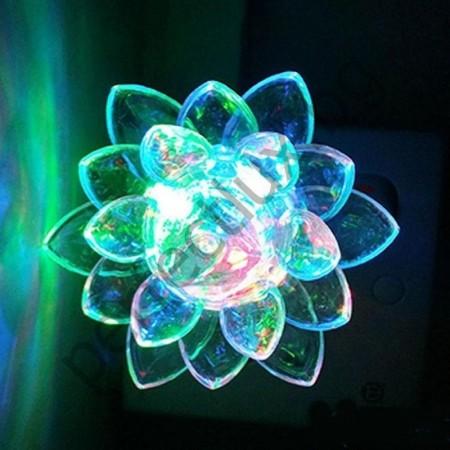 Декоративна нощна лампа Лотос
