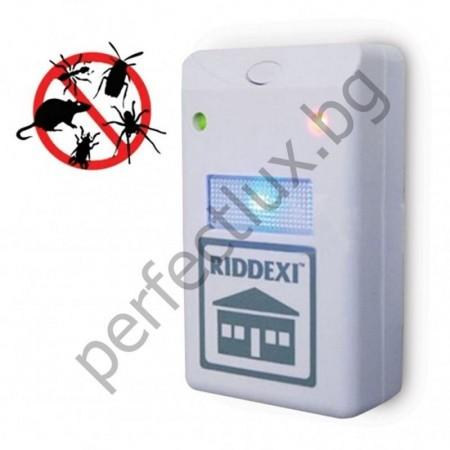ПРОМО ОФЕРТА❗️ 2 БР. Ридекс|Ултразвуков унищожител на хлебарки и гризачи Riddex