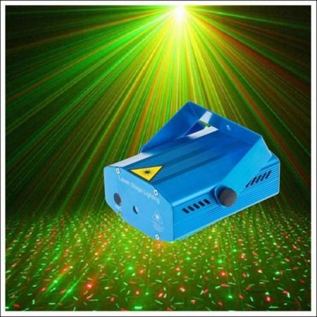 Двуцветен ДИСКО лазер YX-09А