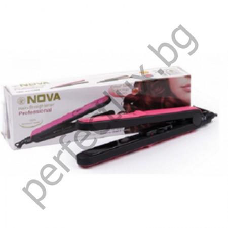 Преса за коса NOVA PROFESSIONAL със специална технология за запазване на цвета