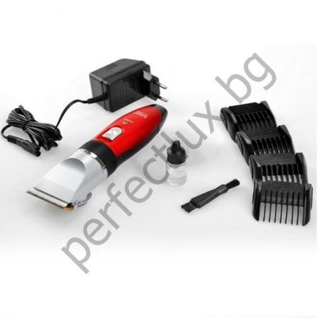 Професионална машинка за подстригване с керамичен нож BX-888