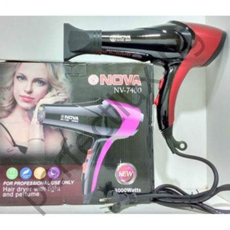 Професионален Сешоар NOVA NV-7400 с парфюм и йонизиращата лампа
