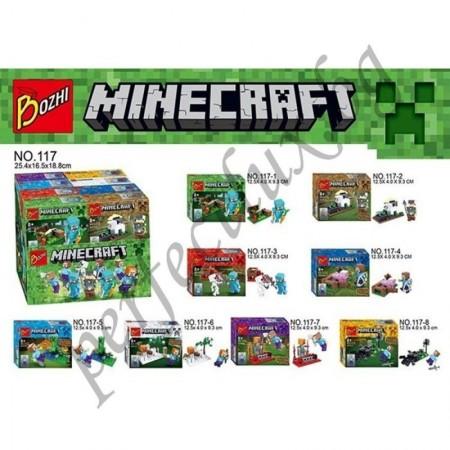 Конструктор Minecraft 117-6