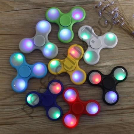 НОВ МОДЕЛ! светеща антистрес играчка Hand Fidget Spinner|Фиджет Спинер