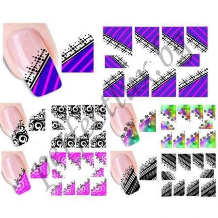 НОВИ МОДЕЛИ! Ваденки за нокти френски маникюр