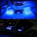 4 бр. светодиодни ленти с 8 цвята 12 диода и дистанционно за интериорно осветление на купе.