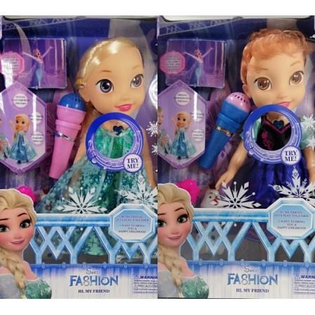 Музикална кукла Анна или Елза и Олаф