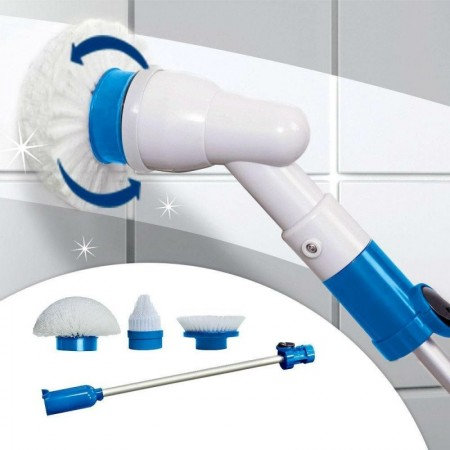 Мощна система за почистване на замърсени повърхности Spin Scrubber