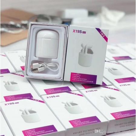 Най-Умален модел X19S TWS Слушалки за телефон .Bluetooth 5,0