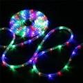 Коледен светещ маркуч 10м LED многоцветен на 220V