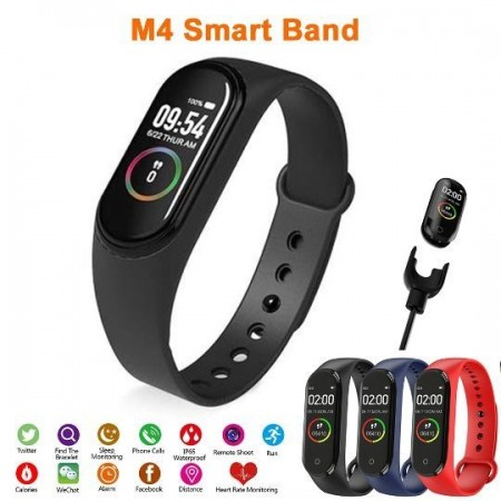 Смарт гривна M4 Intelligence Health Bracelet
