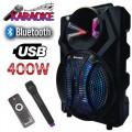 8 Bluetooth Караоке Тонколона + Безжичен Микрофон Meirende MR-219A