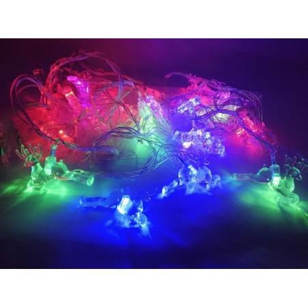 Коледни LED светлини, еленчета