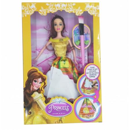 Принцеса на Дисни с вълшебна рокля