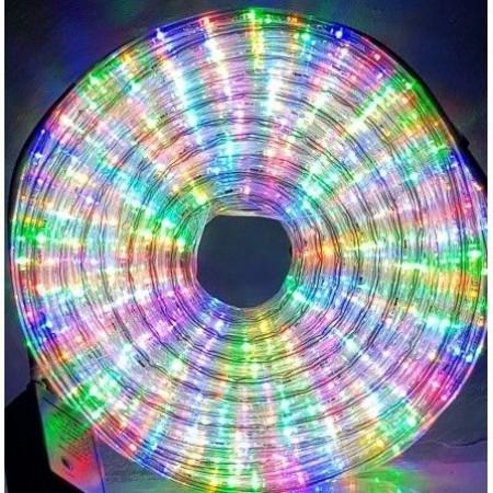 Плосък led RGB светещ маркуч 10 метра