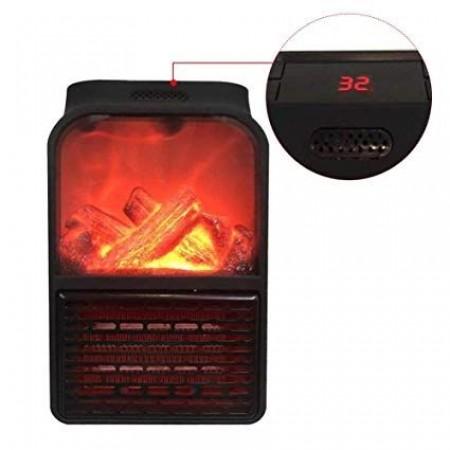 Портативна мини печка с ефект пламък 1000W