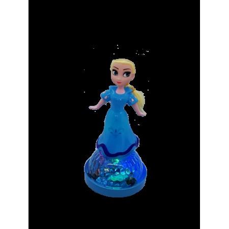 Танцуваща и пееща кукла Елза от замръзналото кралство с LED светлина.