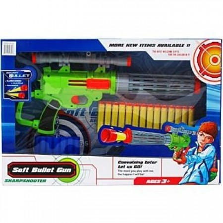Пушка с меки патрони