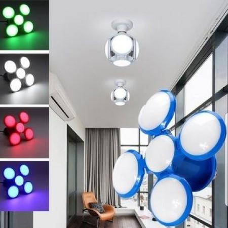 ПРОМО ОФЕРТА❗️LED лампа футболна топка AC85-265V 40W