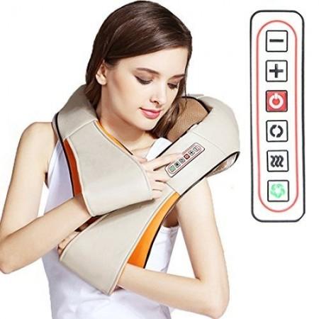 3D Шиацу масажор с шест бутона, Massager of neck kneading
