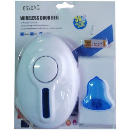 Безжичен звънец за контакт 8620АС