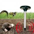 Соларен ултразвуков уред за борба с къртици, сляпо куче и змии