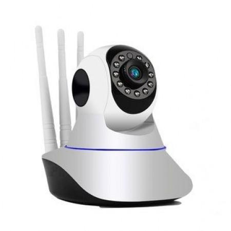 Безжична въртяща се IP Камера с три антени
