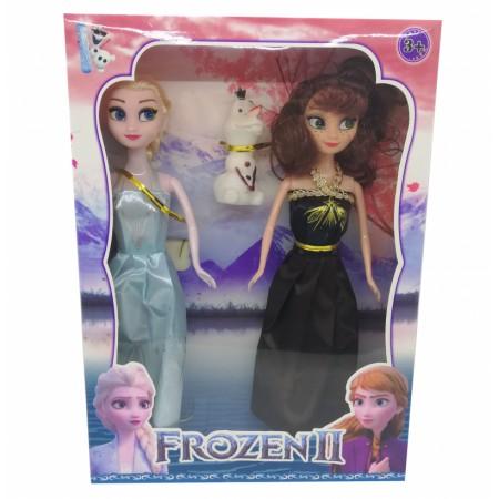 Комплект Кукли Ана, Елза и Олаф Замръзналото кралсво 2