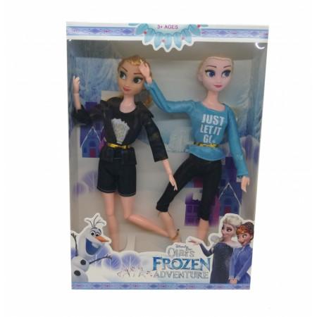 Комплект Кукли Ана и Елза Замръзналото кралсво Adventure