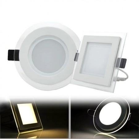 Квадратен LED панел за вграждане за вътрешен монтаж