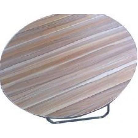 Сгъваема маса, кръгла 80см.