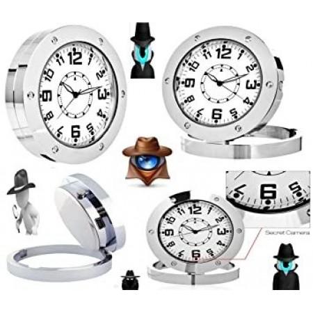 HD мини шпионска скрита камера в аналогов часовник с PIR сензор k292