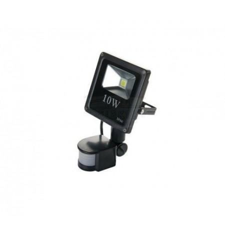 LED Прожектор С PIR Датчик 10W Slim