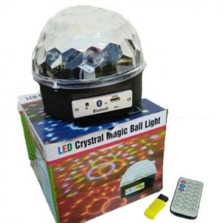 Диско топка голяма с дистанционно и флашка
