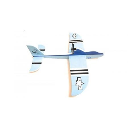 Електрически самолет WFL-968, сглобяем, презареждаща батерия, USB
