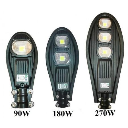 LED Улична соларна лампа със сензор COBRA