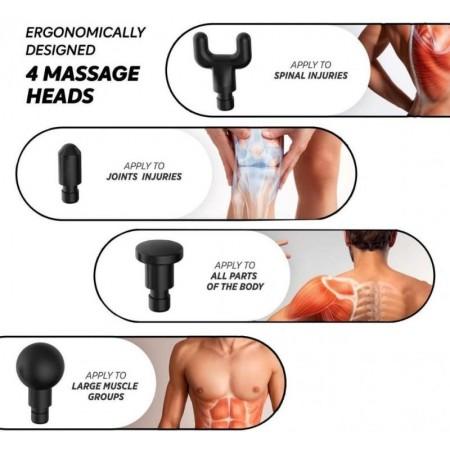 Мощен професионален масажор за тяло Fascial Gun HG-320