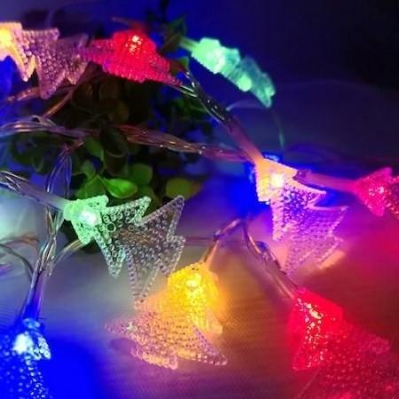 Коледни LED светлини, елхички