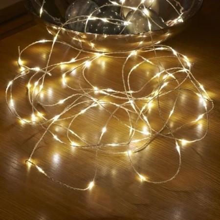 Мини LED Коледни Лампички 3 м. на Батерии