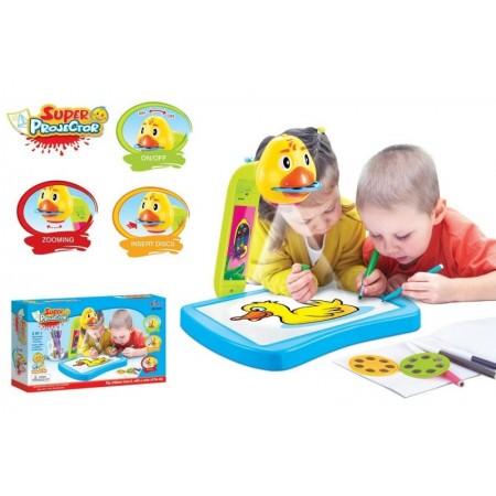 Детски проектор за рисуване 3 в 1
