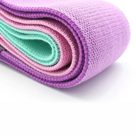 Текстилни тренировъчни ластици – 3бр.