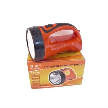 Прожектор фенер акумулаторен YJ-706