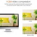 Висококачествен NVR с Full HD резолюция.