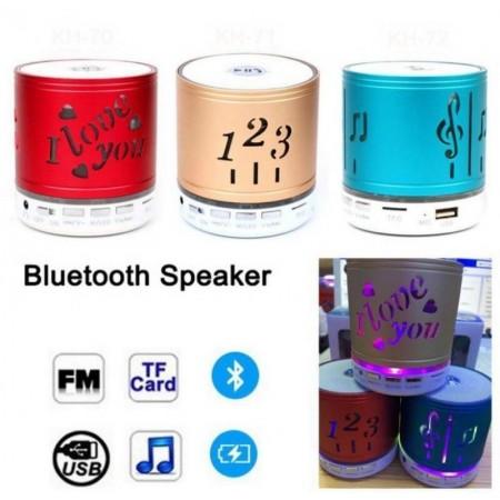 1,2,3 Мини Bluetooth безжична тонколона FM, карта с памет, Bluetooth, USB.