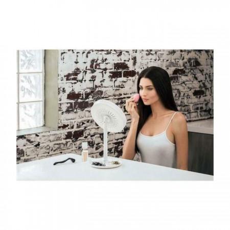 Огледало за гримиране с LED осветление и Вентилатор