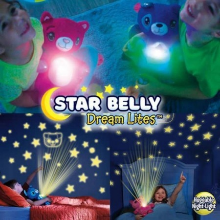 Прегръщаща се, плюшена нощна лампаStar Belly Dream Lites